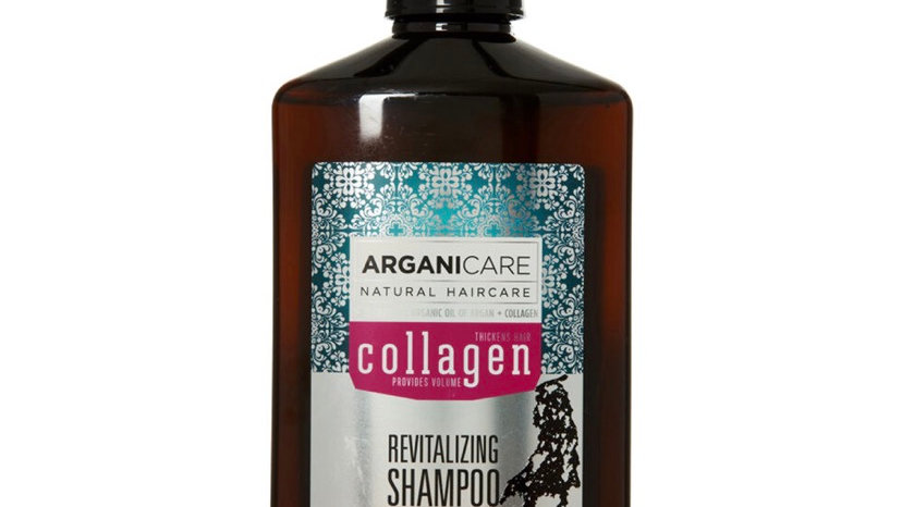 ARGANICARE Thicker Hair Collagen Revitalizing Shampoo 400ml