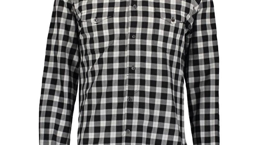 DOLCE & GABBANA Black Checked Long Sleeve Shirt