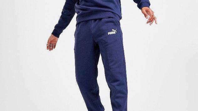 Puma Core Fleece Joggers (Blue)