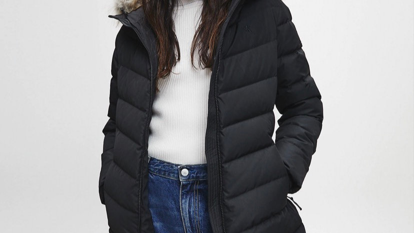 Calvin Klein - RECYCLED POLYESTER DOWN PUFFER COAT