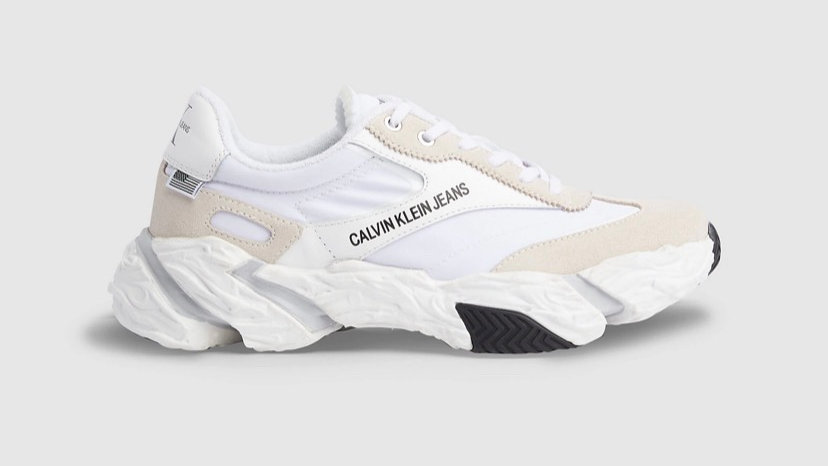 Calvin Klein - LEATHER CHUNKY TRAINERS