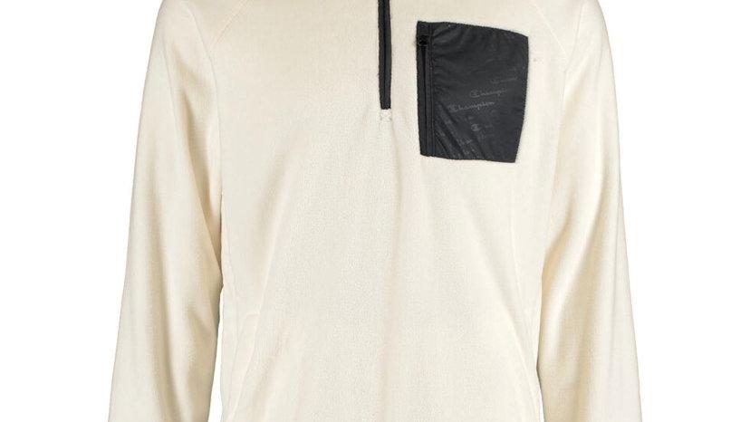 CHAMPION Off White Fleece Jacket