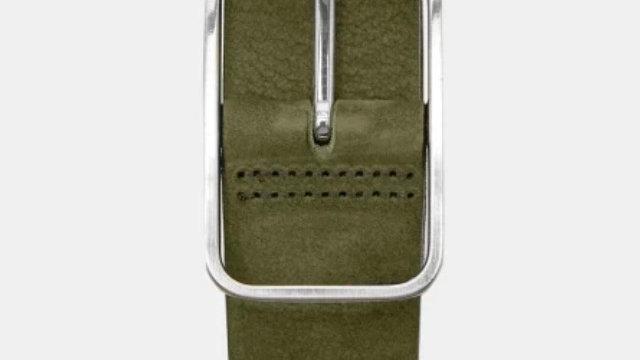 Ted Baker London ESCOBAR Nubuck leather belt