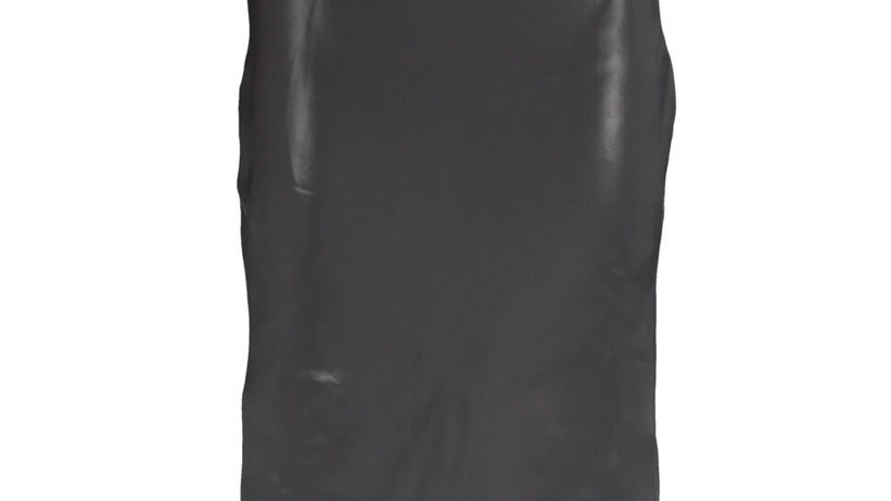 SET Black Midi A Line Skirt