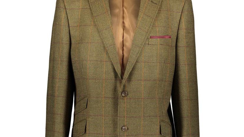 BROOK TAVERNER Green Waverley Tweed Blazer