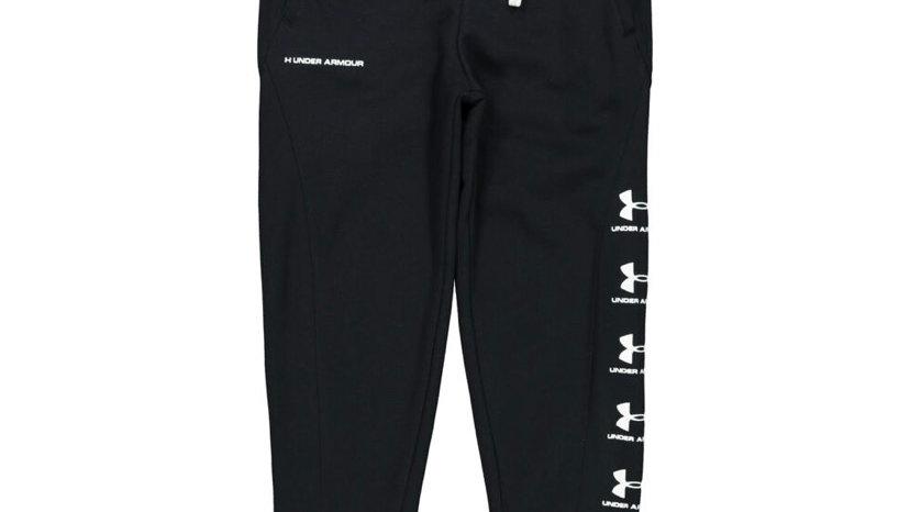 UNDER ARMOUR Black Logo Joggers