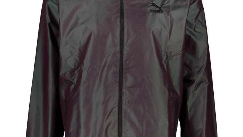 PUMA Purple Iridescent Woven Jacket