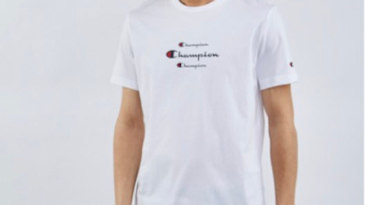 Champion Triple Logo - Men T-Shirts (White/Black/Grey)