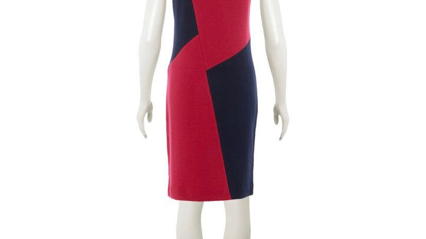 WINSER LONDON Fuchsia & Midnight Navy Mini Dress