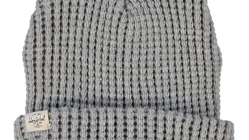 HERSCHEL Grey Knitted Beanie