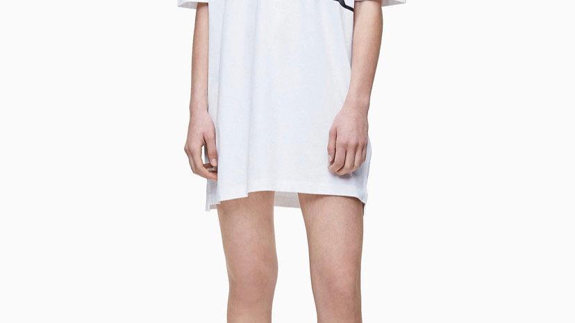 Calvin Klein - ORGANIC COTTON LOGO T-SHIRT DRESS
