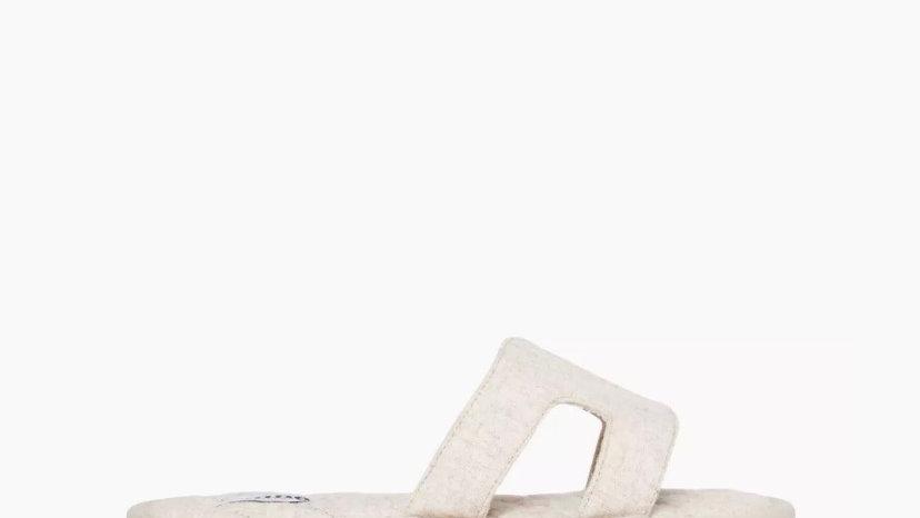 DUNE LONDON - Willowe Cream Slider Slippers
