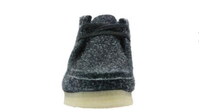 Clark's Wallabee Boot Black Interest 50 % OFF