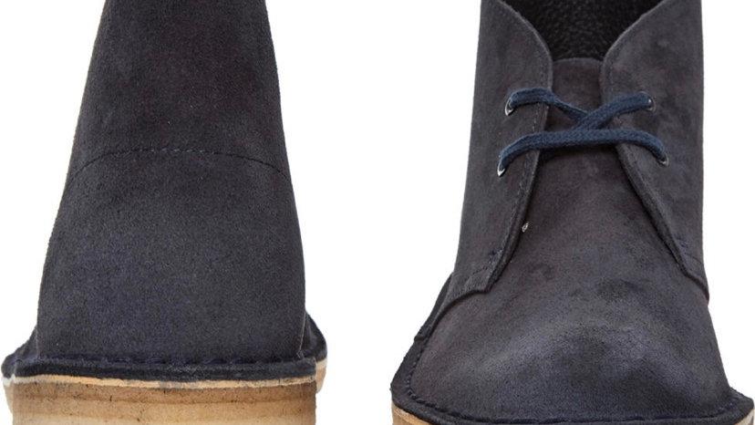 Clarks Originals Desert Boots Navy (UK 4 Women)
