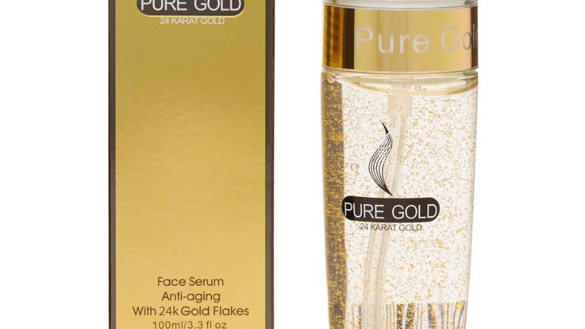 ISO BEAUTY Gold Flakes Face Serum 100ml
