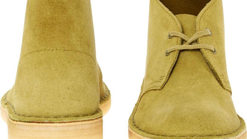 Clark's Originals Desert Boot (Cartreuse Green) UK 4 Women