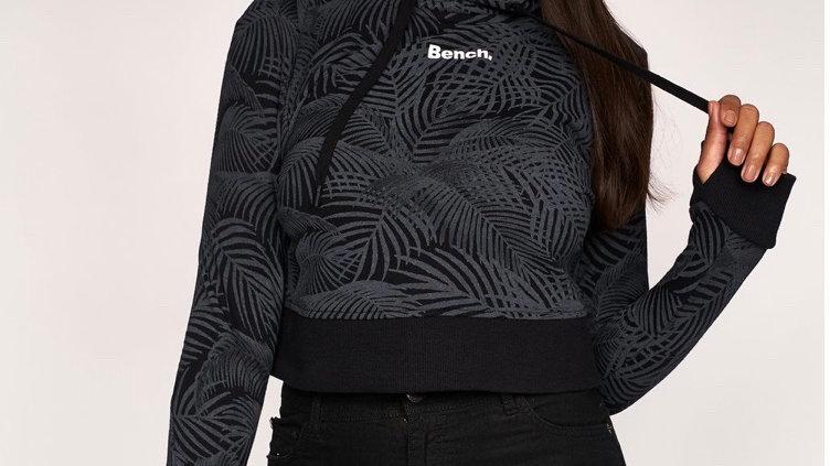 BENCH Womens Capplella Crop Hoodie Black