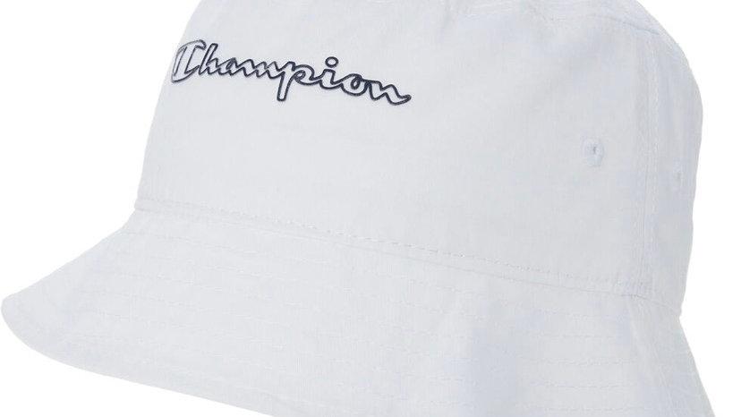 CHAMPION White Logo Bucket hat