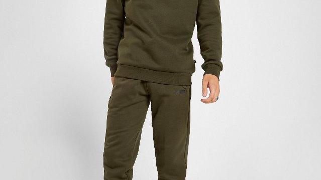 Puma Core Fleece Joggers (Green)