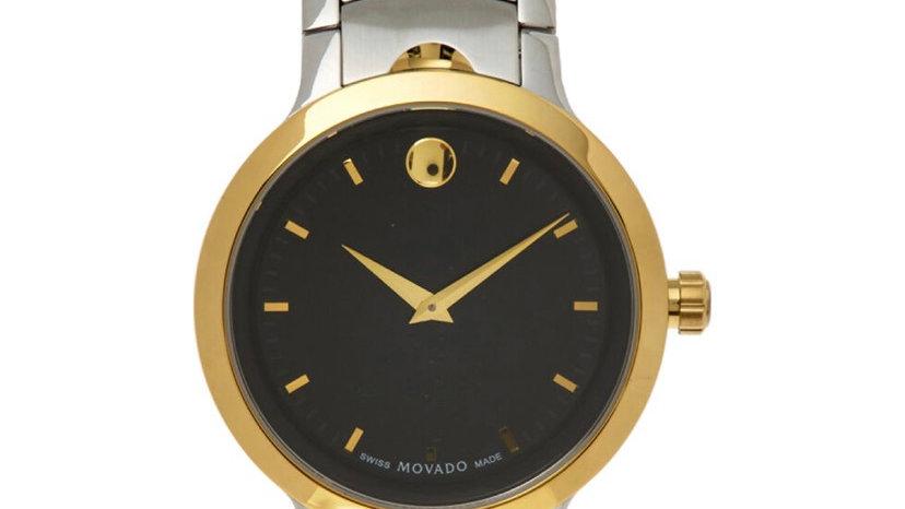 MOVADO Silver Tone & Gold Tone Watch