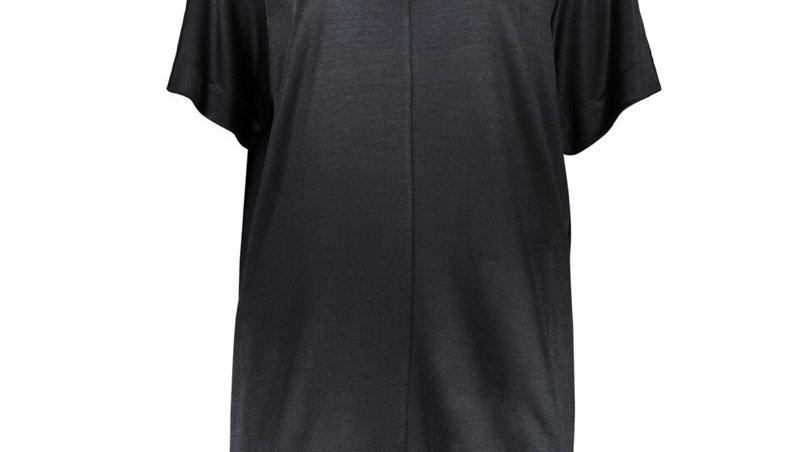 MALENE BIRGER Black Midi Dress