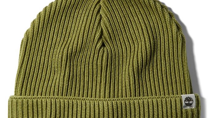 Timberland - COTTON BEANIE FOR (Greem/Blue)