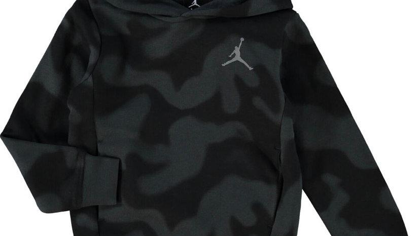 AIR JORDAN Black & Grey Camouflage Hoodie
