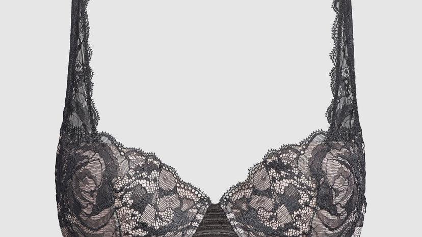 Calvin Klein - PUSH-UP BRA - CK BLACK