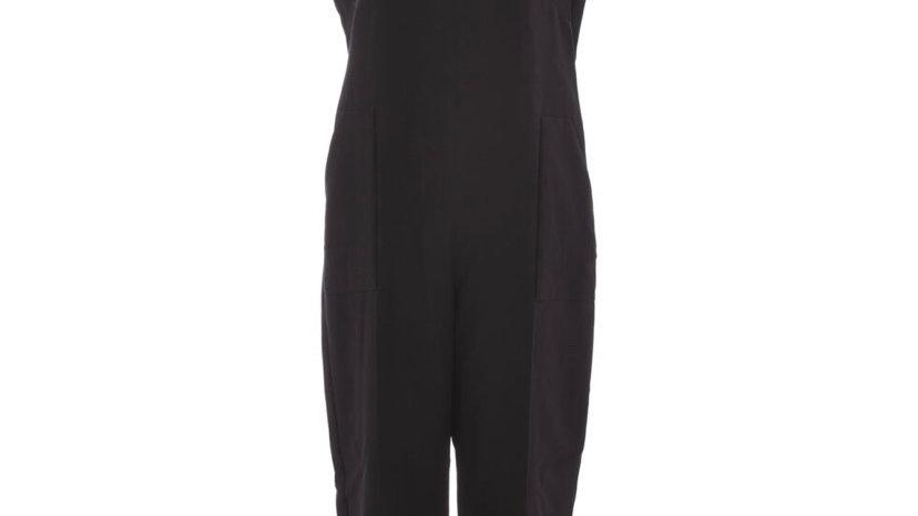 CLOSET Black Culotte Sleeveless Jumpsuit