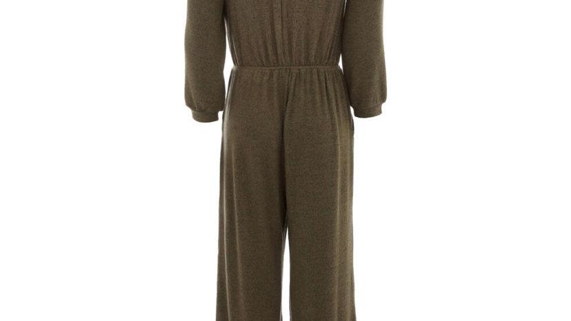 MONTEAU Olive Green Jumpsuit