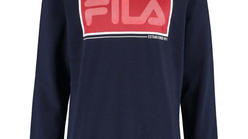 FILA Blue Branded Sweatshirt