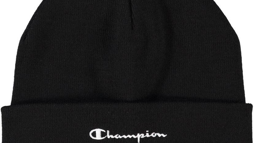 CHAMPION Logo Beanie Hat (Navy/Blue/Green/Grey