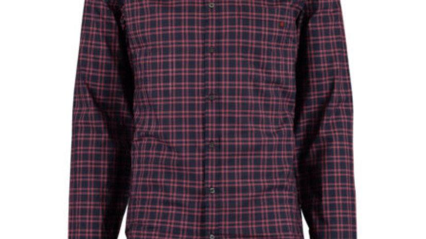 GUCCI Navy & Red Cotton Shirt