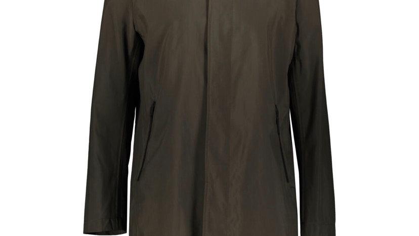 GUARDS LONDON Khaki Waterproof Hood Mac