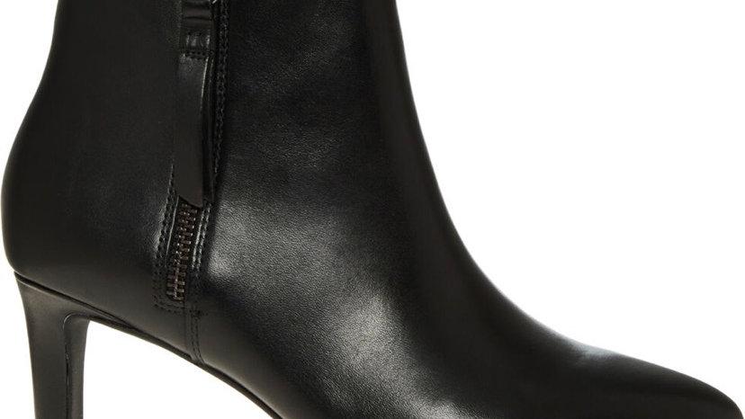 Clark's Black Leather Calla Blossom Boots UK 7 Women