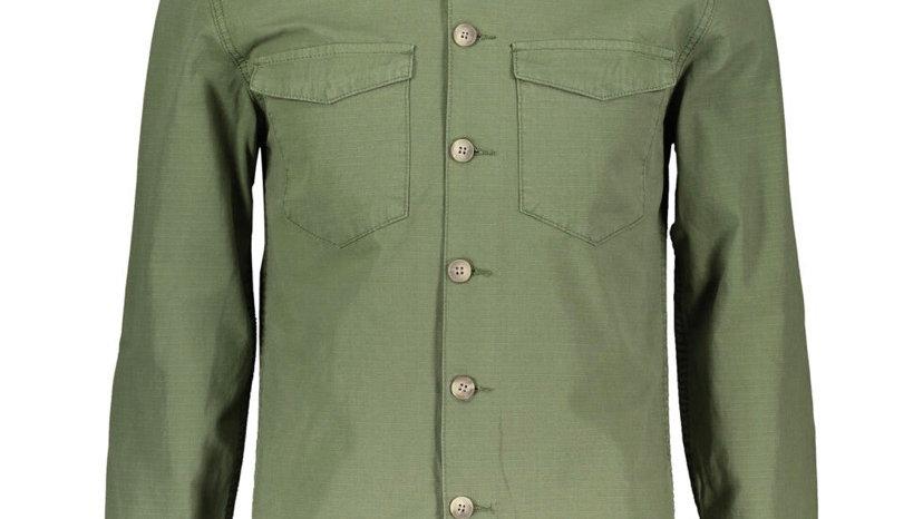 MINIMUM Khaki Long Sleeve Shirt