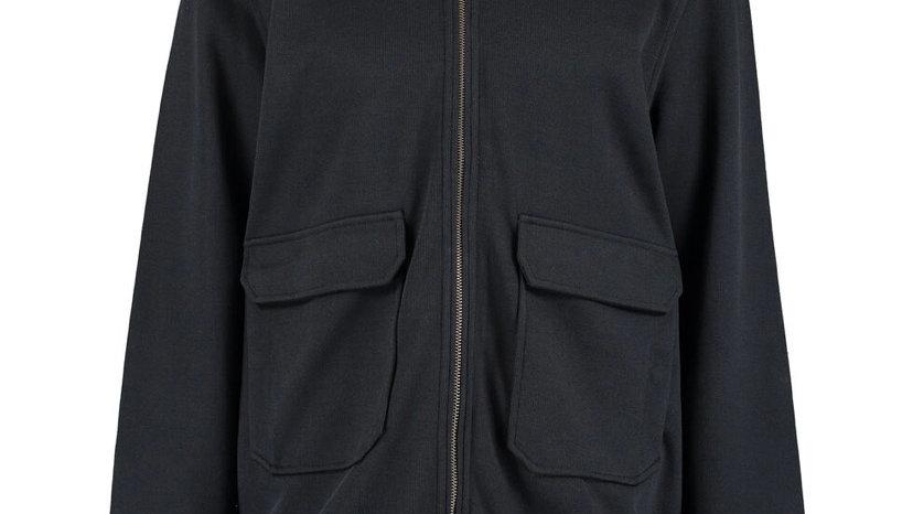 TED BAKER Dark Navy Bomber Jacket