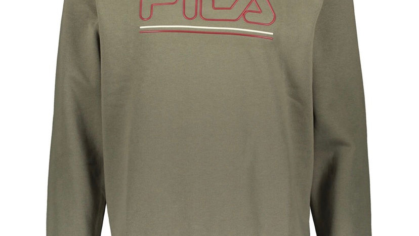 FILA Olive Crew Sweatshirt