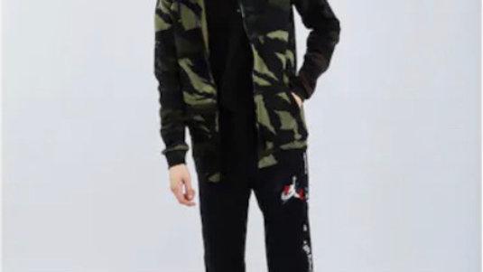 Jordan Jumpman Camo Full Zip - Men Hoodies