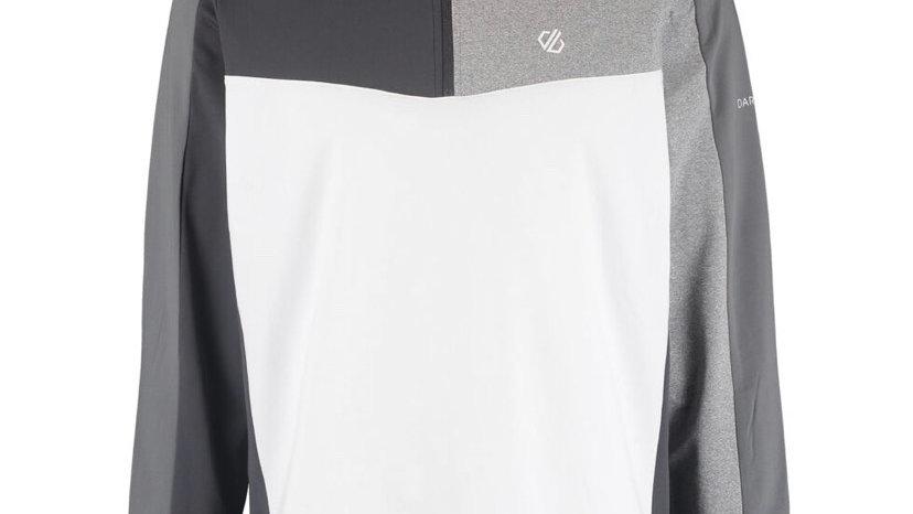 DARE 2B White & Grey Zip Neck Fleece