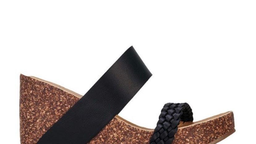 Blowfish Malibu Hickary Strap Sandals in Black