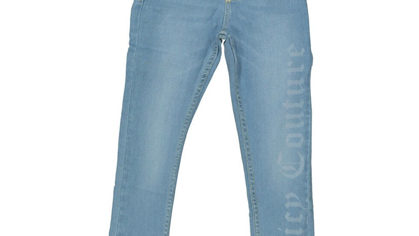 JUICY COUTURE Blue Branded Skinny Jeans