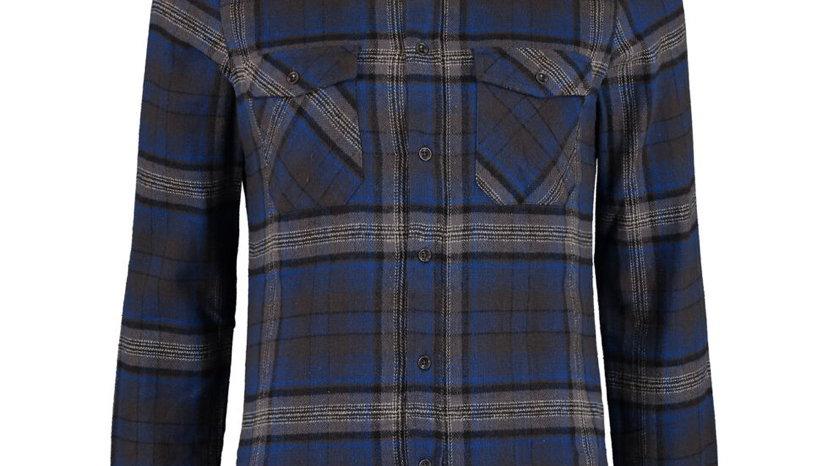 BROKEN STANDARD Blue Flannel Shirt