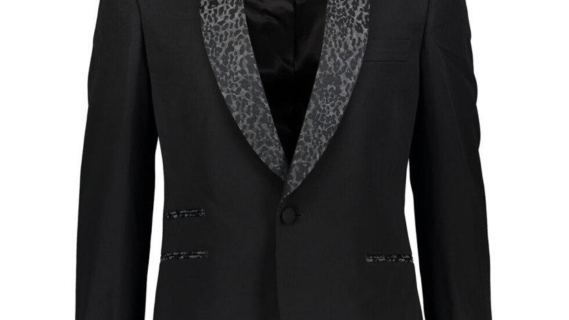 STELLA MCCARTNEY Black Wool Tuxedo Blazer