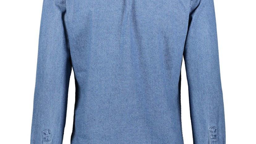STEEL & JELLY Blue Denim Long Sleeve Shirt