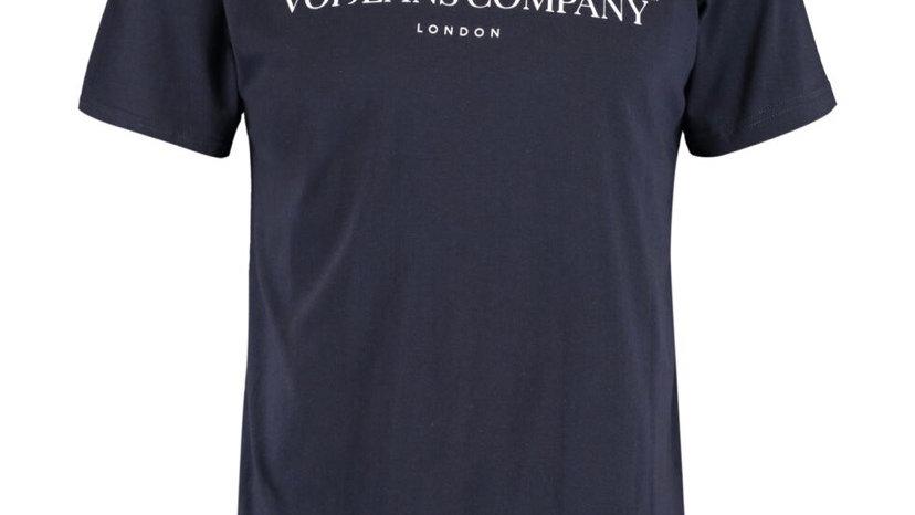VOI JEANS Navy Short Sleeve Street T Shirt