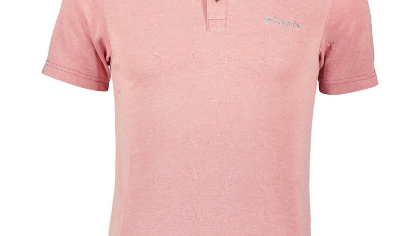 Columbia Red Nelson Point Polo Shirt (S) £34