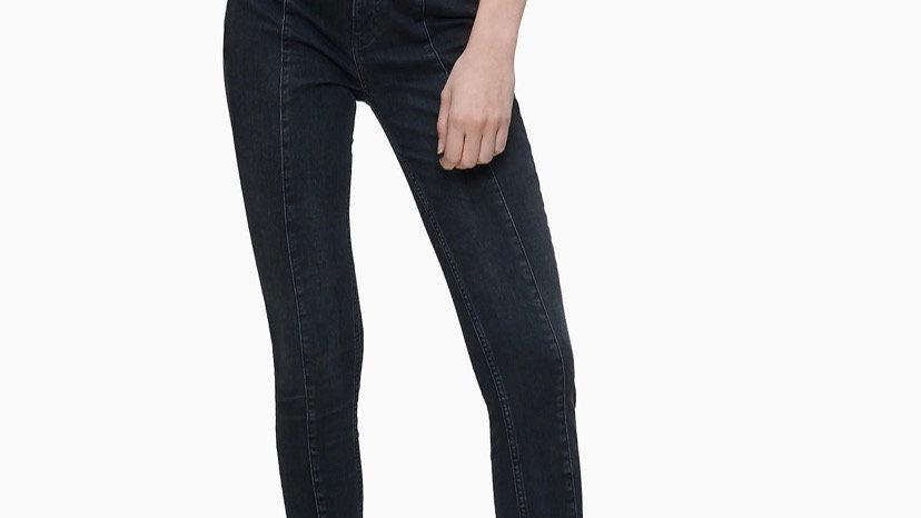 Calvin Klein - HIGH RISE SEAMED SUPER SKINNY JEANS