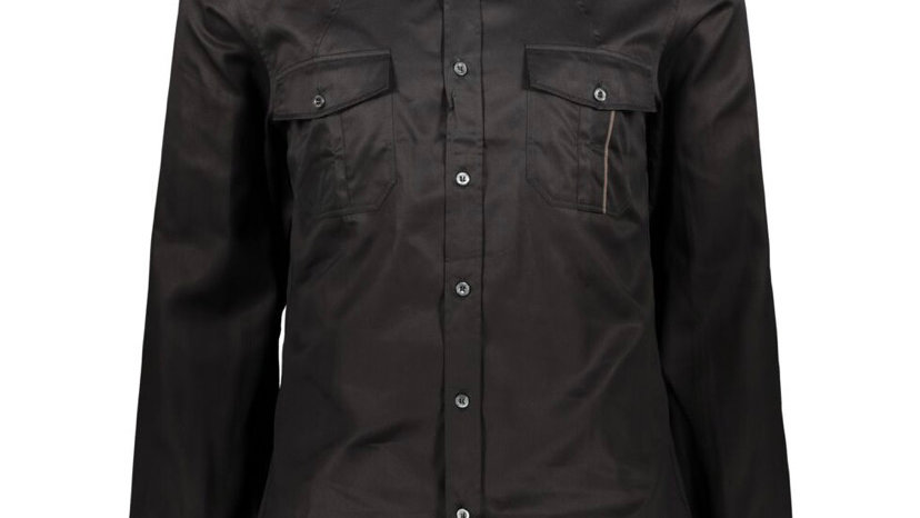 GUCCI Black Fitted Shirt