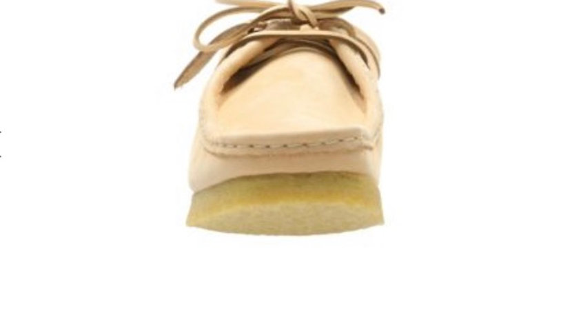 Clarks Wallabee Natural Tan Leather